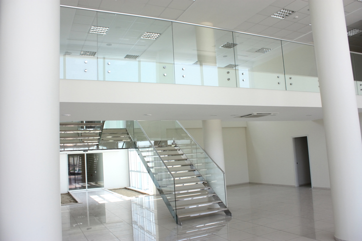 Glass Staircase Hand Rail Banister